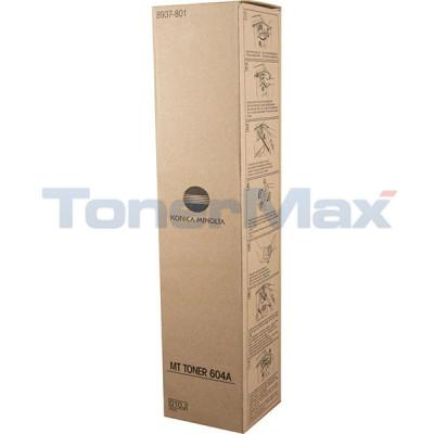 MINOLTA DI-551 650 TONER BLACK (604A)